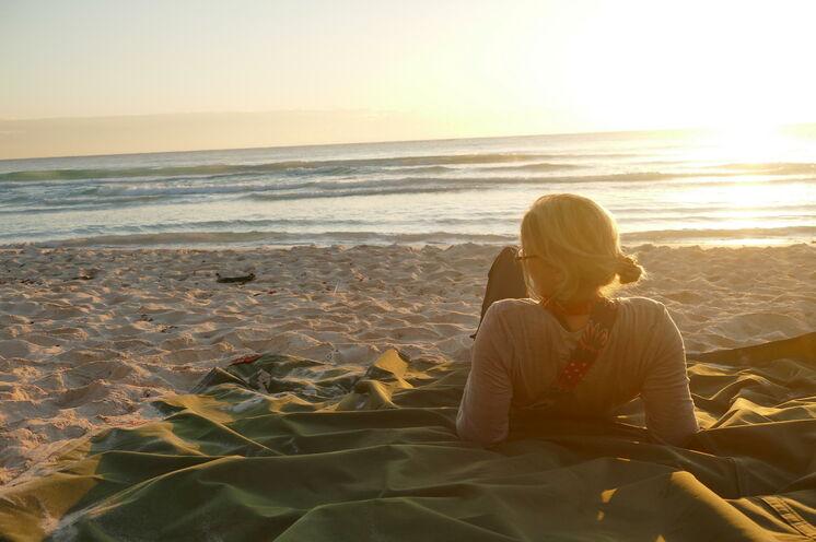 Der Strand von Ultima Maya:. ein wohlverdienter Abschluss einer abenteuergespickten Reise zu den Ursprüngen der Maya