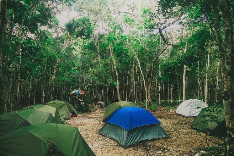 Oft übernachten Sie naturnah in Zelten im Dschungel Yucatans oder am Strand. Alle 2 bis 3 Nächte dürfen Sie sich über feste Hotelunterkünfte freuen