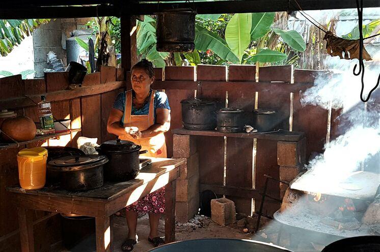 Landestypische Küche versteht sich von selbst - probieren Sie die leckeren, selbstgemachten Tacos