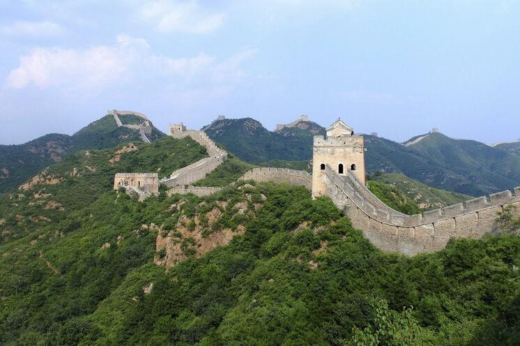 Der Abschnitt Jinshanling der Großen Mauer liegt relativ abgeschieden, bietet großartige Aussichten und ist nicht so überlaufen wie andere Teile der Chinesischen Mauer