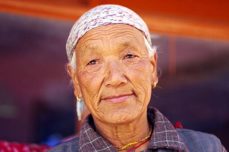 Bewohnerin von Zanskar