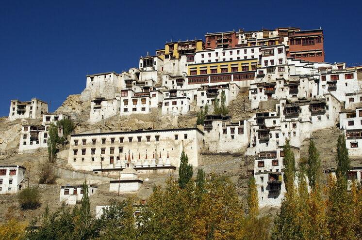 """Das Thiksey-Kloster wird auch """"Little Potala"""" genannt"""