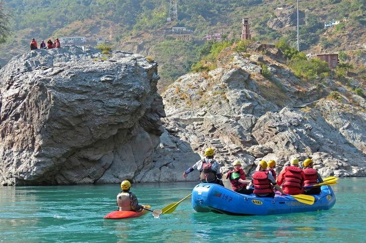 Rafting auf dem Indus-Fluss