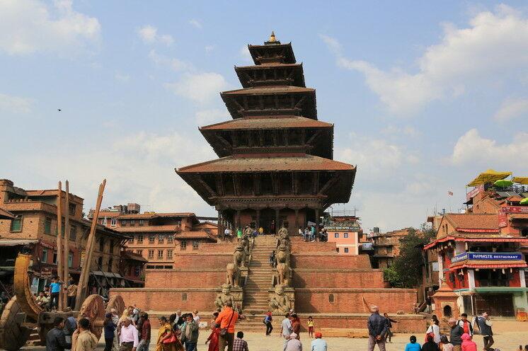 Tempelpracht in Bhaktapur - Nepal