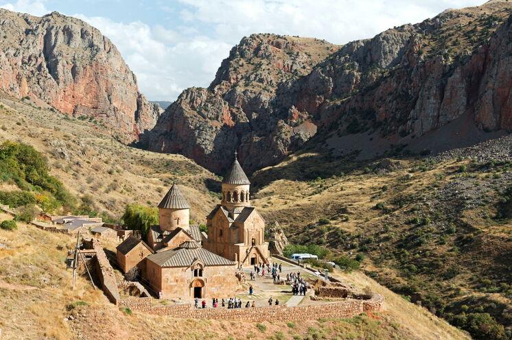 Eines der eindrucksvollsten historischen Stätten Armeniens: Kloster Noravank