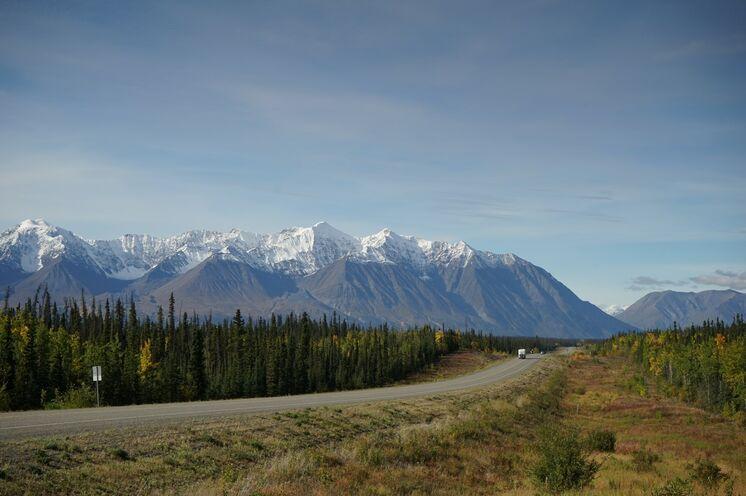 Bei dieser Reise ist auch der Weg durch die endlosen Weiten das Ziel...