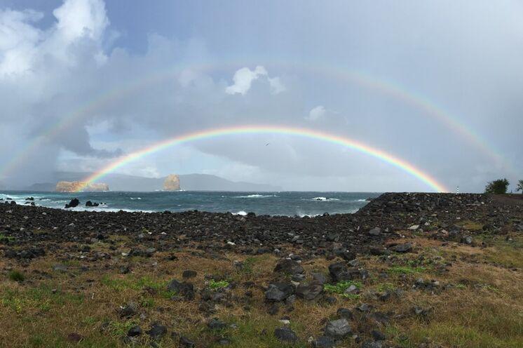 Wer sich auf den Azoren auskennt, der kann sich das Wetter selbst zusammenstellen - ihr Reiseleiter Arne ist dafür der perfekte Mann