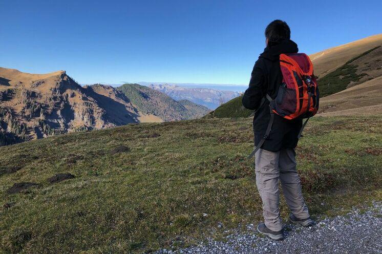 Der Blick in die Ferne – ein Geschenk der Berge