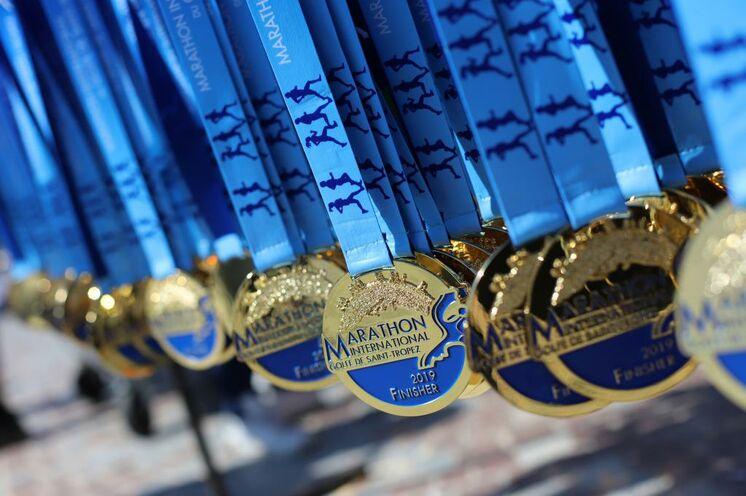 Der verdiente Lohn - die elegante Finisher Medaille