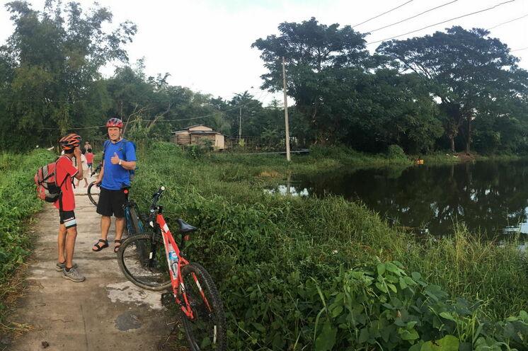 Gleich am Anfang Ihrer Reise erkunden Sie Yangon und Umland mit dem Fahrrad.