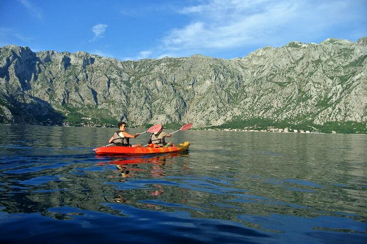 Seakayaking in der Bucht von Kotor