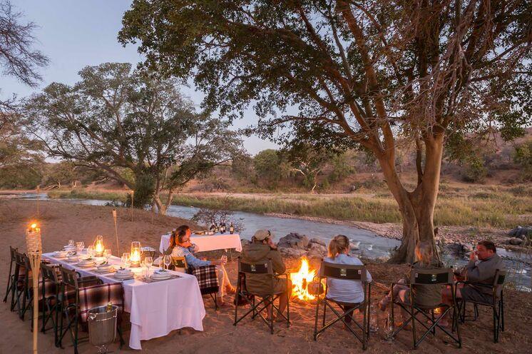 Bei unserer 3 tägigen Trekking Safari im Greater Kruger Game Reserve. Ideal als Anschlussprogramm zu unsere Multiaktiv Reise ans Western Cape geeignet (© Africa On Foot)