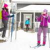Skischule von Gasthaus zu Gasthaus