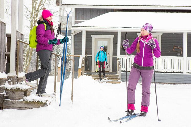 """""""Skischule"""" in einer kleinen Gruppe garantiert, dass Ergebnisse schnell sichtbar werden"""