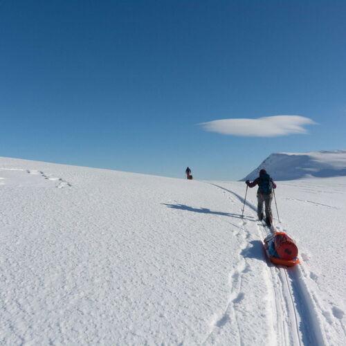 Fjellskitour in Nordnorwegen