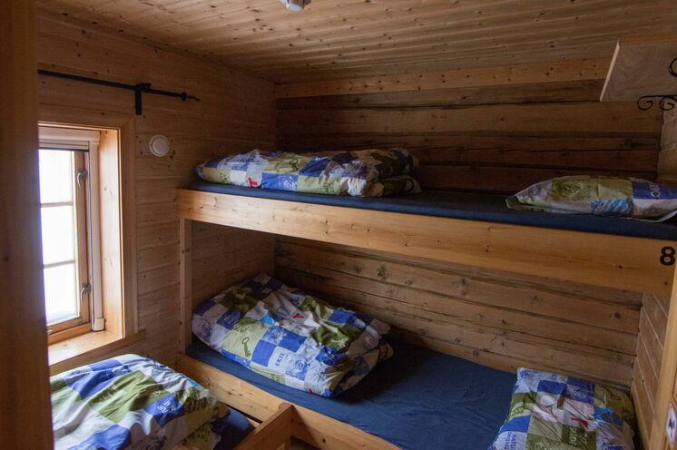 So sehen die Hütten des norwegischen Wandervereins aus