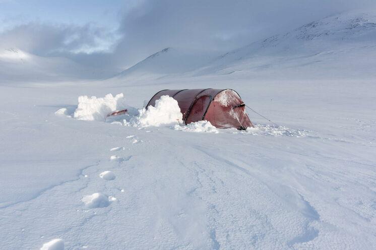 Wer möchte, kann auch mal im Zelt übernachten