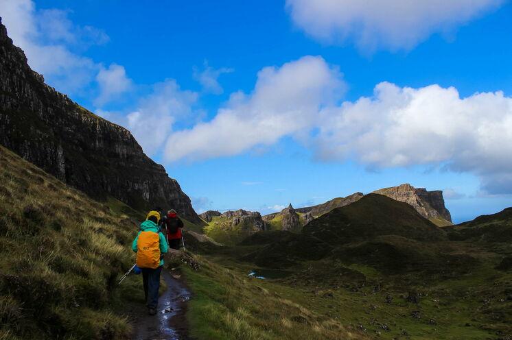 Fast wie in einem schottischen Märchen: Wandern durch verwunschene Landschaft