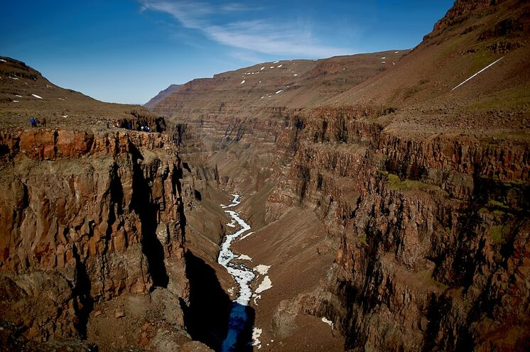Großartige Canyons