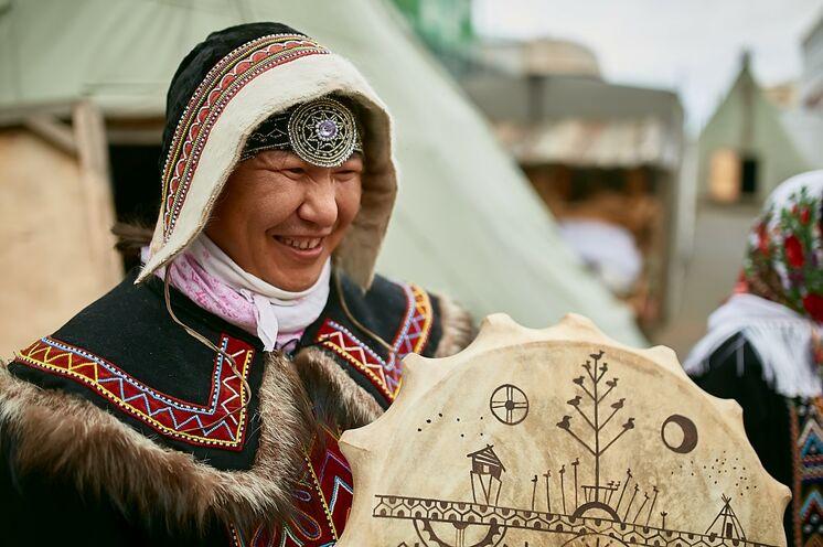 In Dudinka: Ausflug in die Völkerkunde der Region