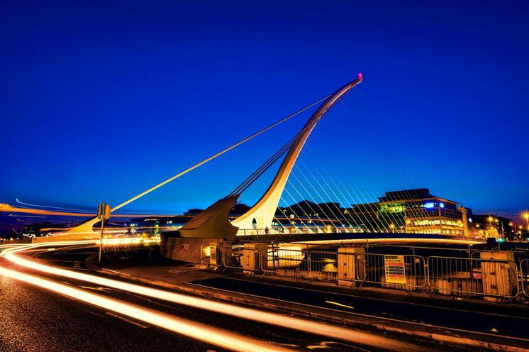 Die Samuel Beckett Bridge in Dublin – die irische Metropole zwischen keltischer Tradition und Moderne