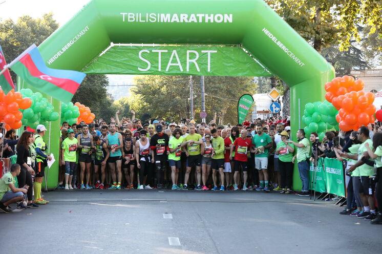 9 Uhr fällt der Startschuss zum Tbilisi-Marathon
