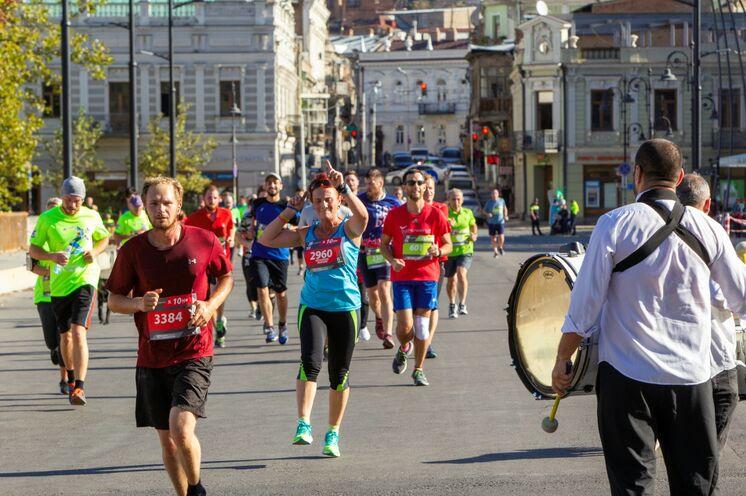 Halbmarathon oder 10 km-Lauf: die Stimmung passt!