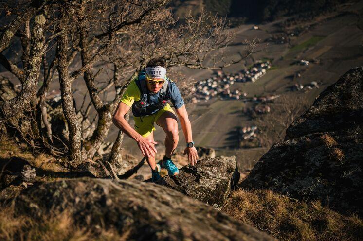 Technikübungen für Up-und Downhills sind Teil unseres Trailrunning Camps