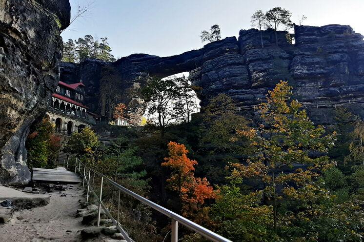 Die letzte Wanderung führt in die Böhmische Schweiz