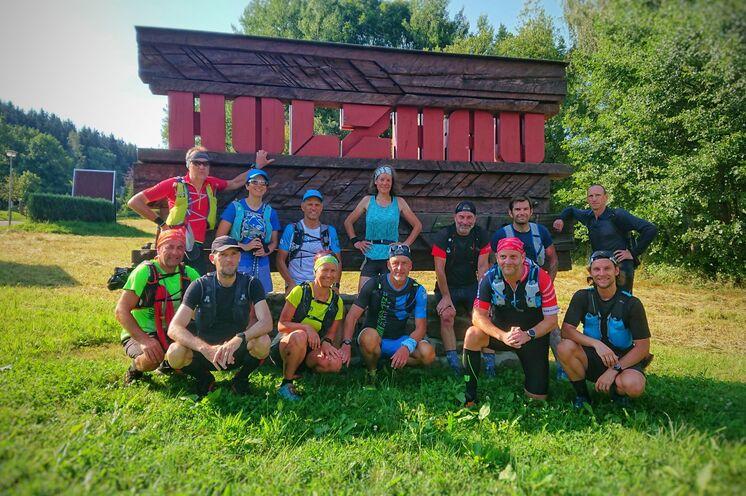 Auch der Wintersportort Holzhau wird durchlaufen