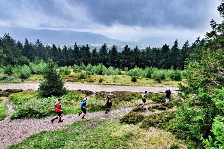 Das Streckenprofil von Etappe 1 ist recht hügelig und hat knapp 1200 Höhenmeter zu bieten.