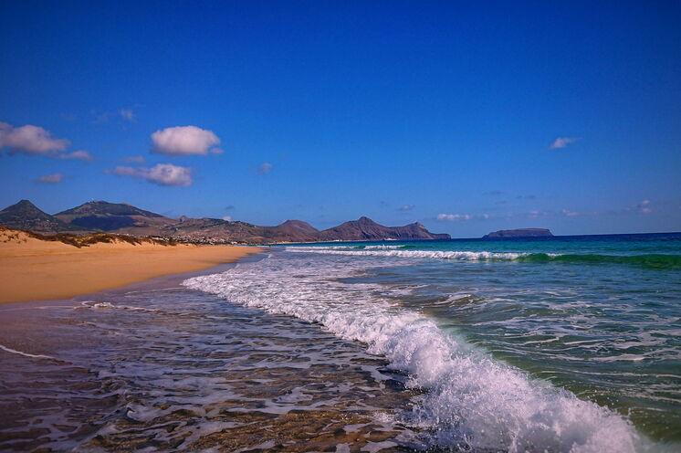 Belohnung nach dem Laufabenteuer am 9 km langen Sandstrand von Porto Santo. (Auch für Strandläufe ideal!)