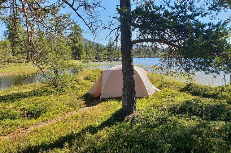 Campingerlebnis inmitten der wunderschönen Natur