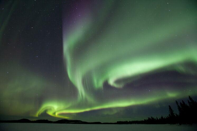 Ein Highlight jeder Lapplandreise im Winter sind die Nordlichter