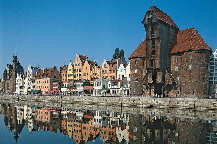Das Krantor von Danzig - in der alten Hansestadt beginnt Ihre Reise!