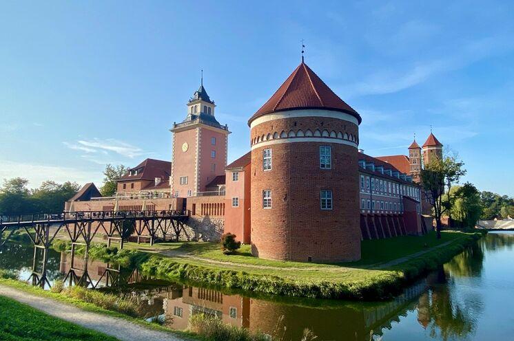 Das Schloss der Ermländischen Bischöfe in Heilsberg - bedeutendes Bauwerk der Ordensritter