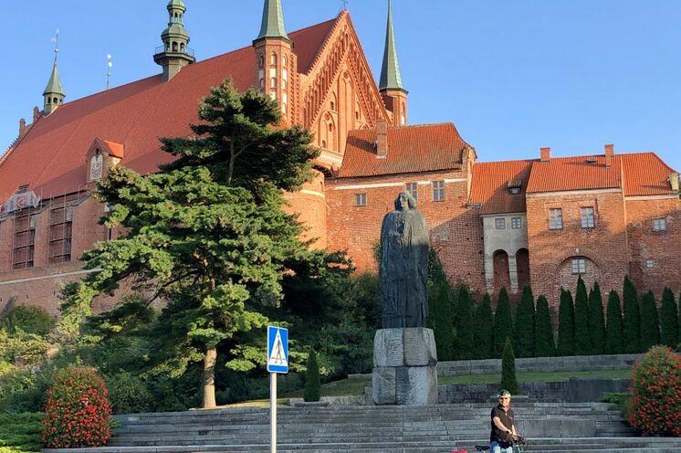 In Frombork (Frauenburg) lebte und arbeitete der berühmte Astronom Kopernikus