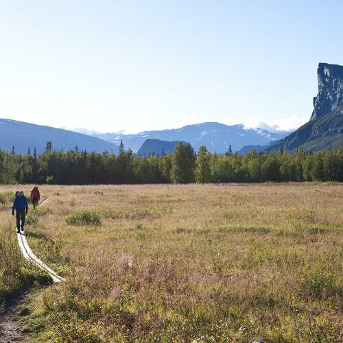 Trekkingtraum Schwedisch Lappland