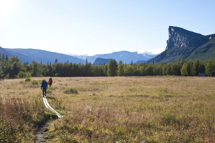 Unendliche Weiten in Schwedisch Lappland charakterisieren diese Reise