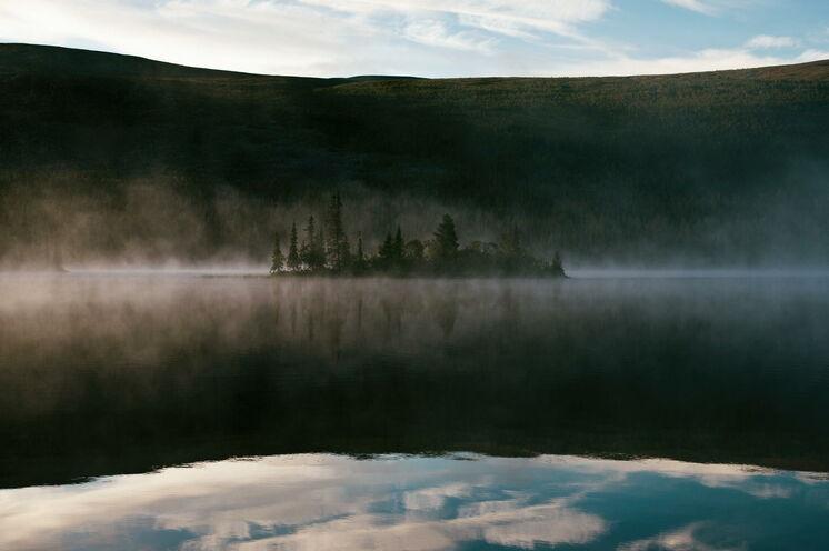 Die mystischen Landschaften in Nordschweden laden zum Träumen ein.