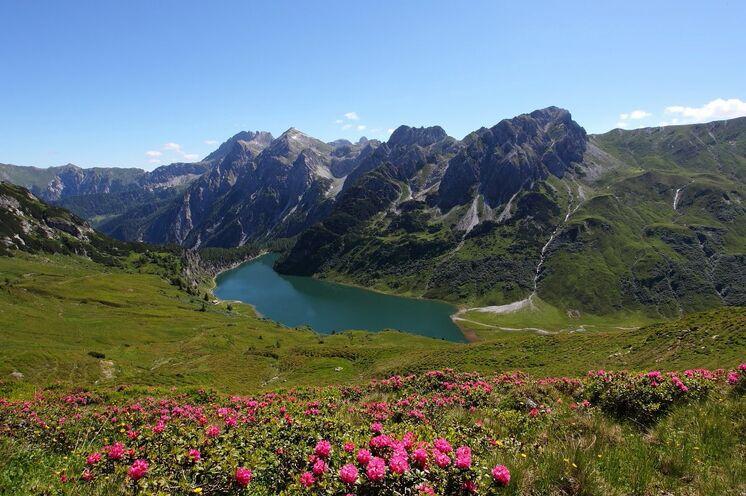 Der Tappenkarsee auf 1762 m Höhe gehört wohl zu den schönsten Plätzen im Großarltal
