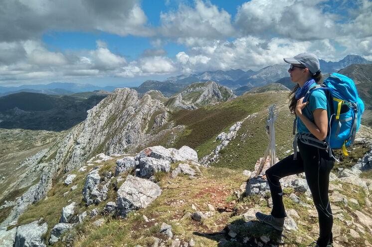 Genießen Sie während Ihrer Wanderungen Ausblicke, für die manch ein Bergsteiger seine Seele verkaufen würde!