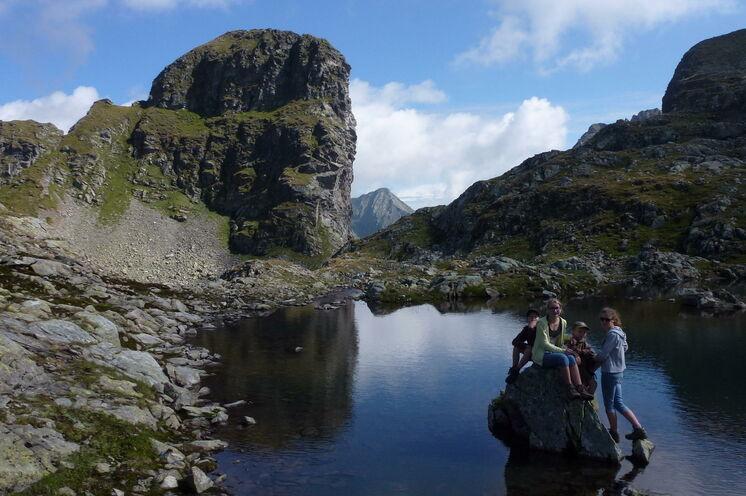 Im Klafferkessel offenbart sich die ganze Wildheit und Schönheit des Gebirges (Foto: F. Höflehner)