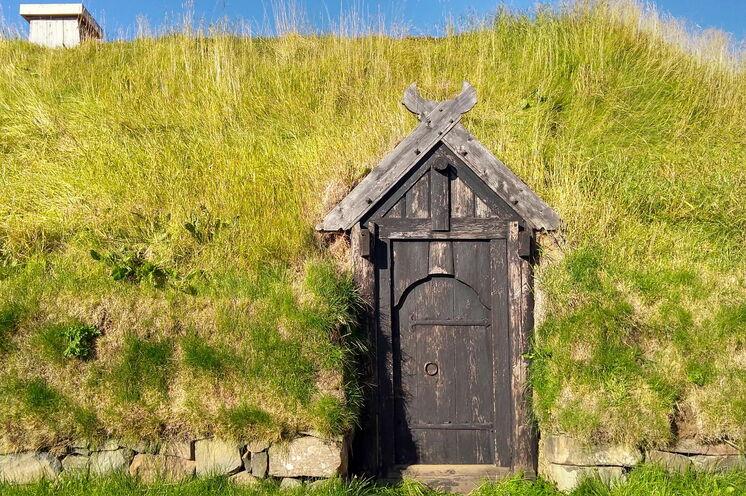 Besuch Þjóðveldisbær - wie Isländer im 11. Jahrhundert lebten