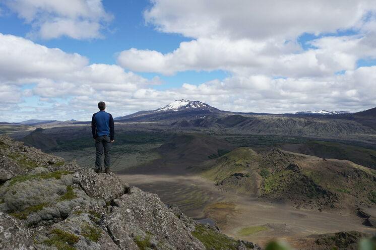 Fester Platz im Programm: Wanderung im Vorgarten der legendären Hekla