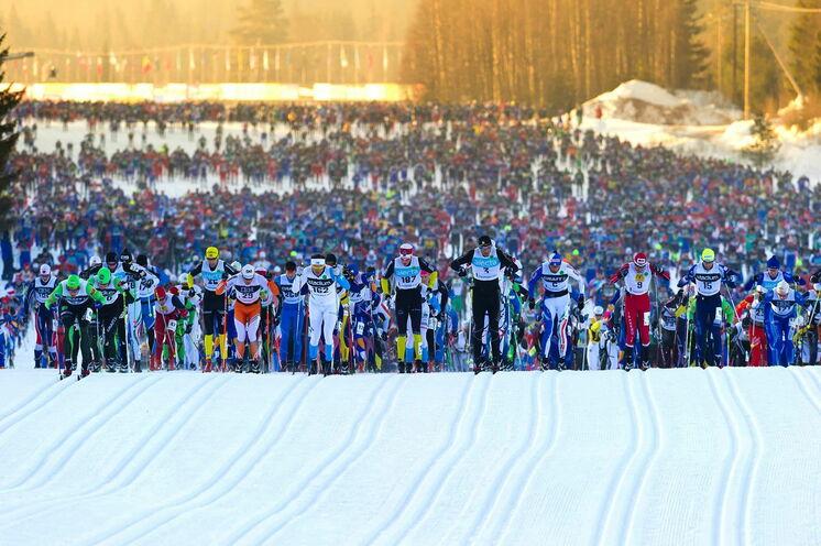 Die legendären 90 Vasaloppet-Kilometer führen von Sälen nach Mora