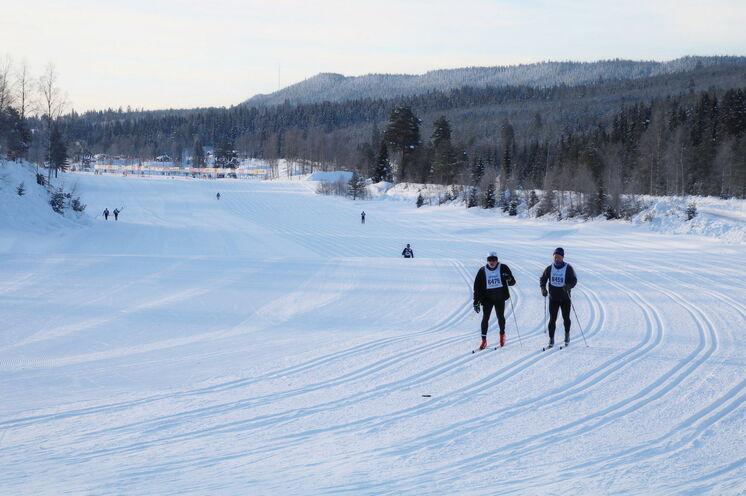 Die Öppet Spar (immer Montag) über 90 km auf der originalen Vasaloppet-Strecke bietet sehr angenehmes Laufgefühl. Hier sind deutlich weniger Teilnehmer unterwegs als beim Hauptlauf
