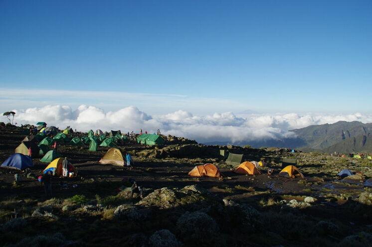 Das Shira Camp One auf der Machame Route