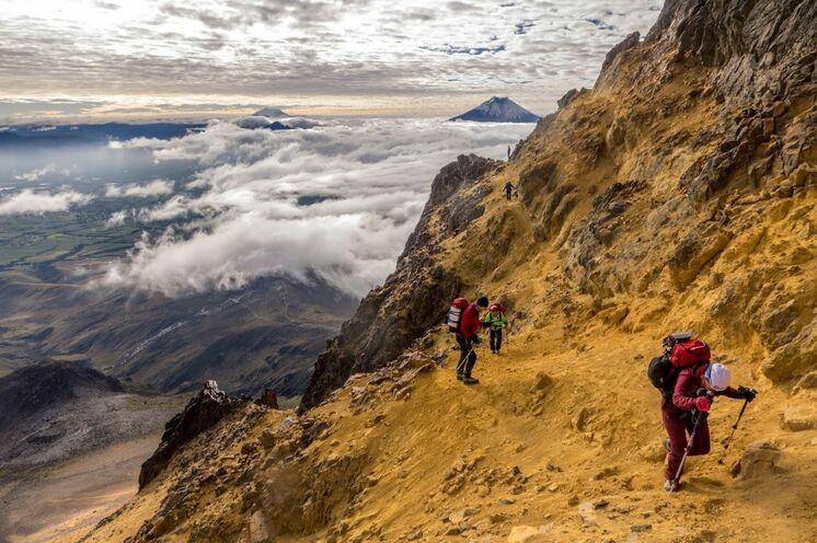 """Bergsteigen entlang der """"Allee der Vulkane"""" mit Aufstieg zum Illiniza Norte (5126 m)"""