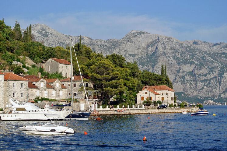 Südliches Flair in der Kotor-Bucht
